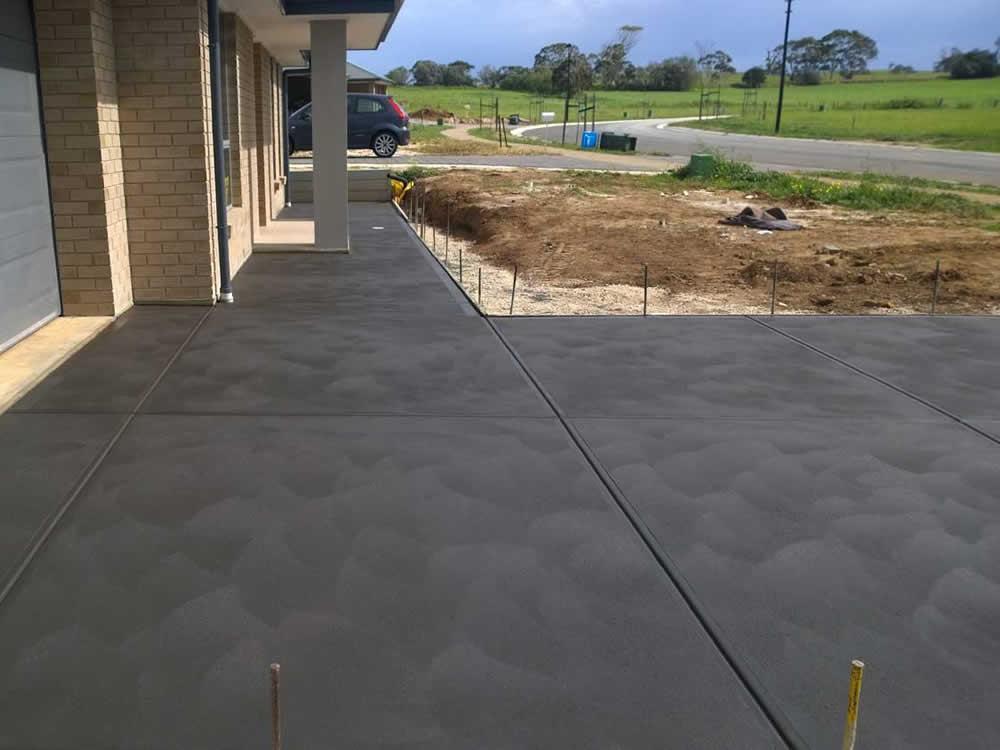 Coloured Concrete Concreting Brisbane Redlands Logan
