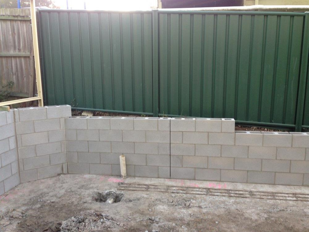 Concrete Retaining Walls Concreting Brisbane Redlands Logan